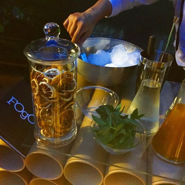 Empieza el aperitivo #damefogo ya: qué os parece un mojito? @alquimiafogo @jpalcantarag @danialvesd2