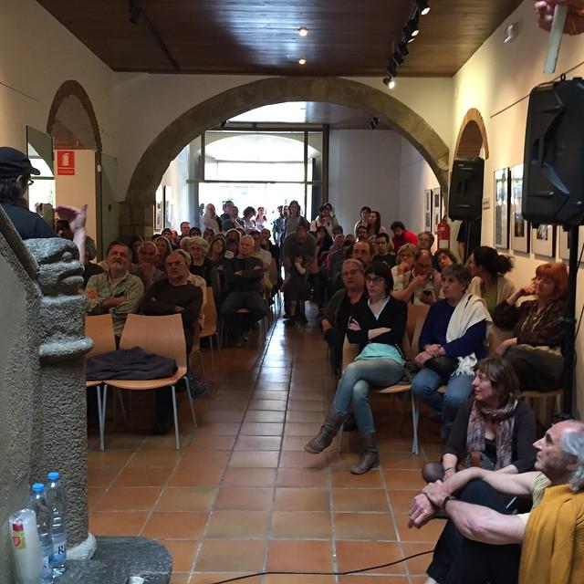 Ja hi som #festivaldepoesia de Sant Celoni @joseppedrals @PauGener @davidcc_01 @baix_montseny :))