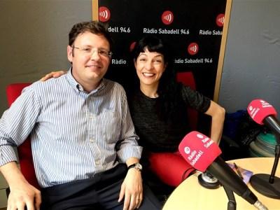 Ara a Ràdio Sabadell m'ha entrevistat a La caixa de Pandora el gran Albert Beorlegui #elecuadordeulises :))