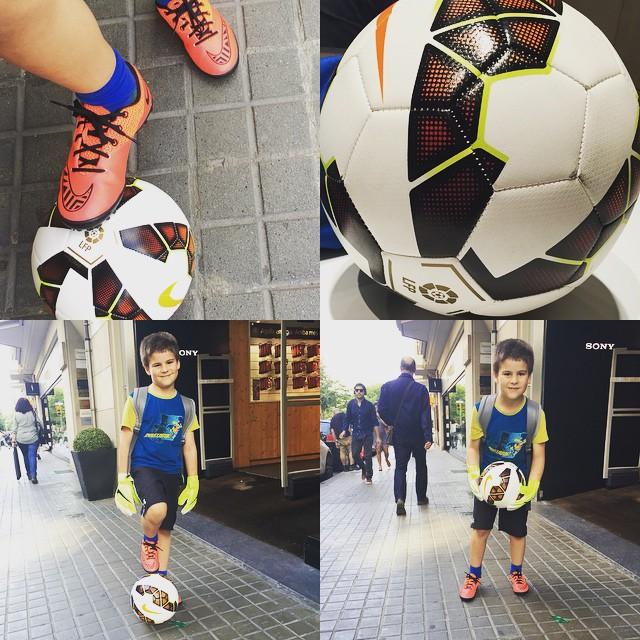 Mañana 28 Juan cumple 8 años y... Ha salido un poco del Barça