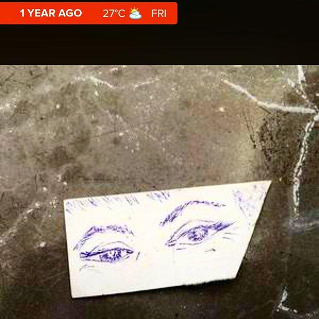 Hace un año hoy #mirame y #mirame :))