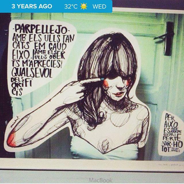 Hoy hace 3 años, gracias @paulaboneti ;))