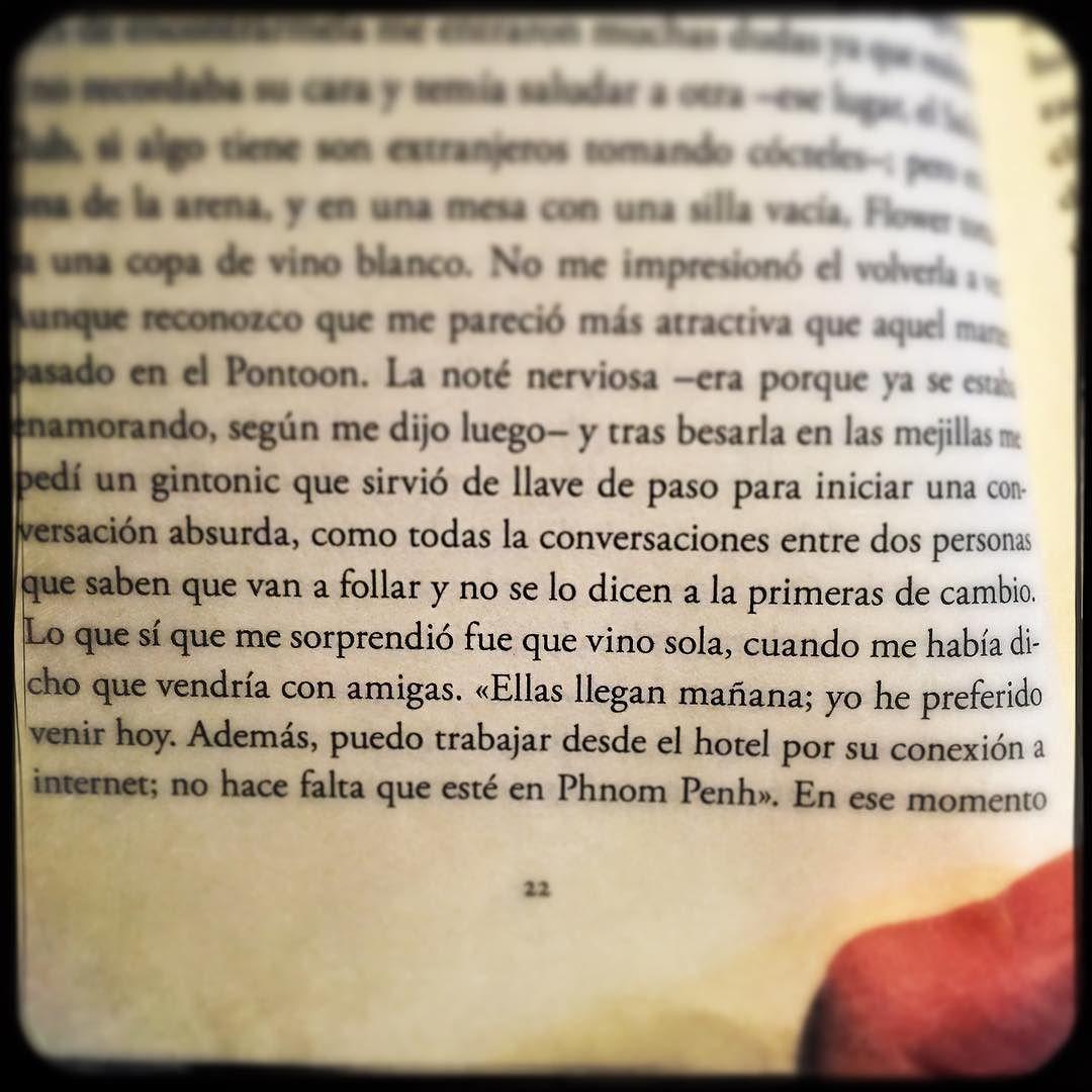 """... como todas las conversaciones entre dos personas que saben que van a follar y no se lo dicen a primeras de cambio... Joaquin Campos, novela """"Doble ictus"""""""