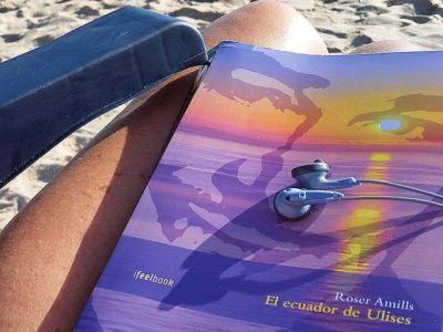 Un bon llibre, bona musica i la remor de la mar… Que mes es pot demanar
