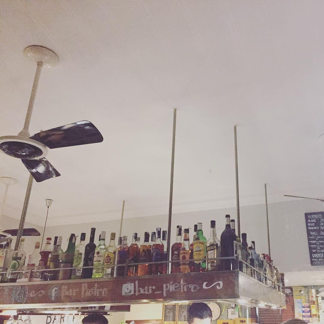 Qué tendrá el bar Pietro que me gusta tanto? El 7 de octubre tenemos una cita