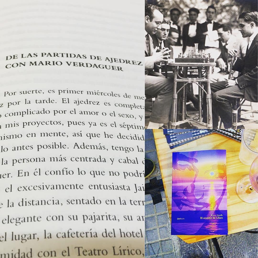 En mi novela #elecuadordeUlises también sale #MarioVerdaguer ;))