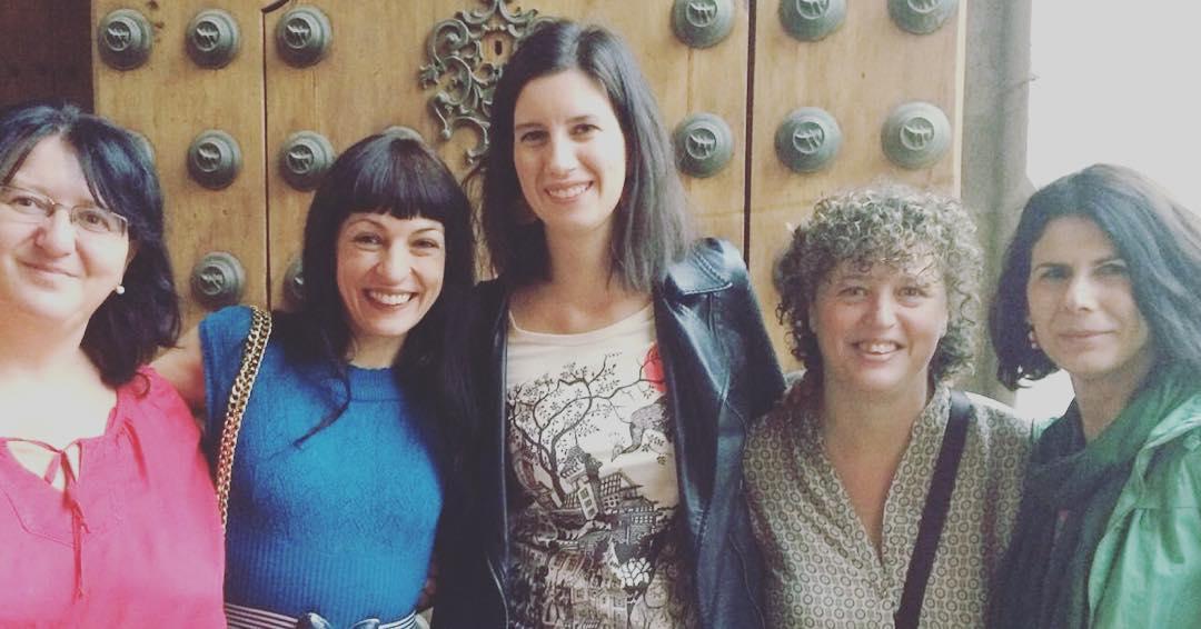 Todo el lunes con la cabeza en las @ecijajornadas y las escritoras maravillosas que he conocido! #ecija #ecijana