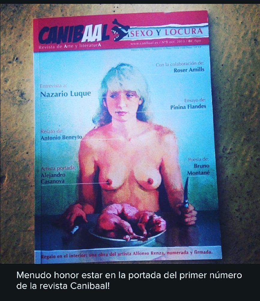 La revista #canibaal cumple 2 años y lo celebraremos el sábado a las 12:30h en la Librería Calders