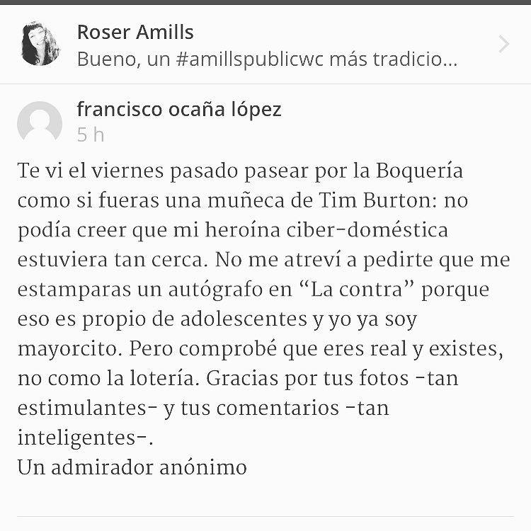 Gracias por estos comentarios bonitos en mi blog!!!
