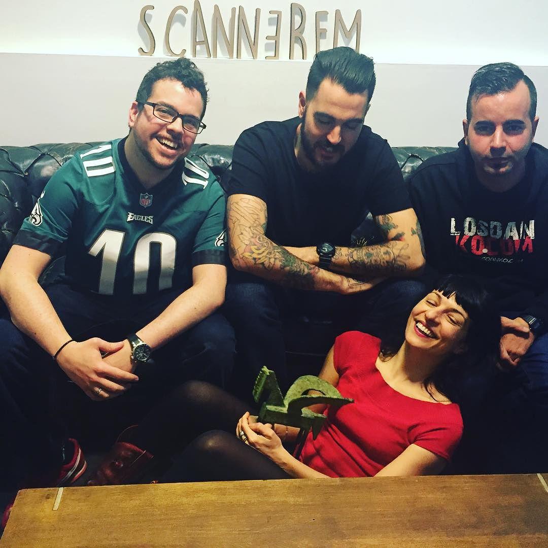Hoy hemos preparado otro programa de los @dankoamil en @scannerfm que os va a divertir mucho! Pronto podcast!!