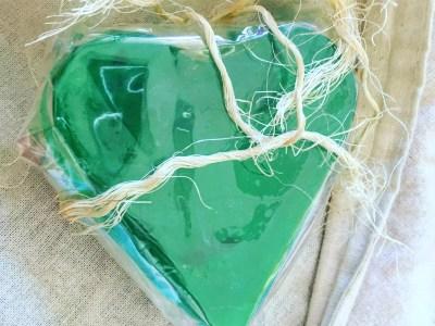 Bello regalo: jabón artesanal con esencia de menta #maravilloso