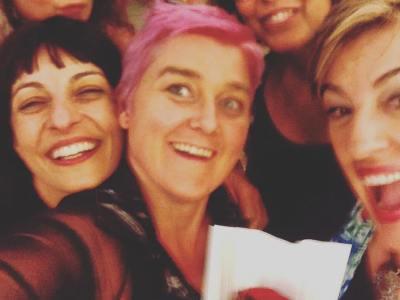 By @sustimma・・・Momento La bachillera con @roseramills visca a Amantis @ifbeditors