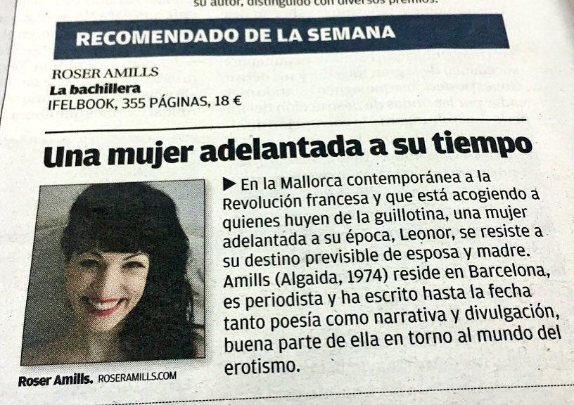 Exclusiva: pronto visito Mallorca para presentar en mi tierra La bachillera