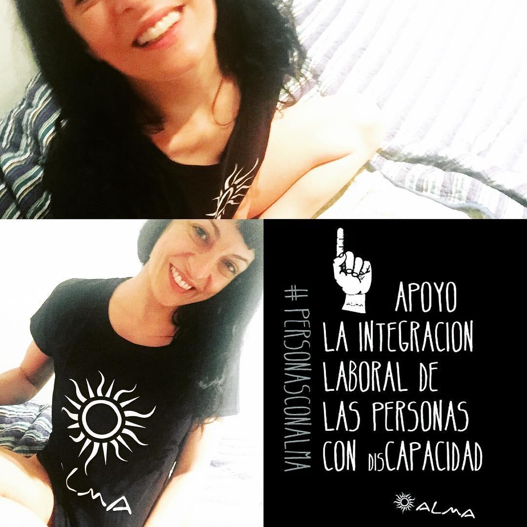 Asociación Alma Solidaria, Campaña #PersonasconAlma para sensibilizar sobre la integración laboral de las personas con disCAPACIDAD #discapacidad #alma #almasolidaria #rsc