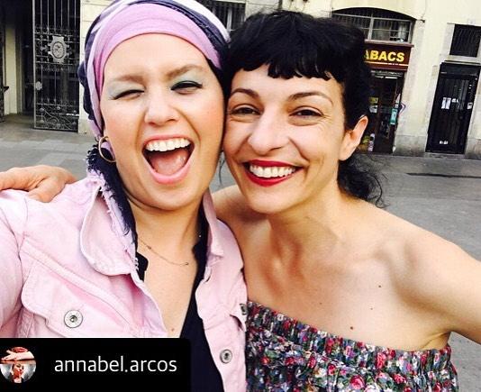 Bella Annabel Arcos Una tarde contigo. Un chute de espontaneidad y optimismo.Gracias !!!