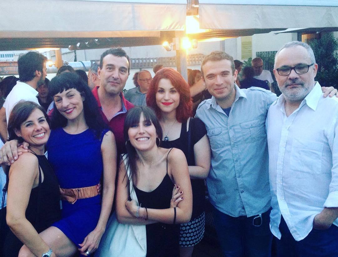 Ara si!! Amb el dire Toni Marín i més equip del 31416 a la #festa31416 #lanit31416