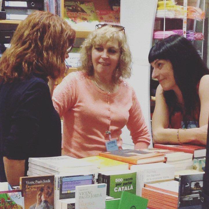Meravelloses amigues escriptorasses @coiavalls i @mariacarmeroca ;))