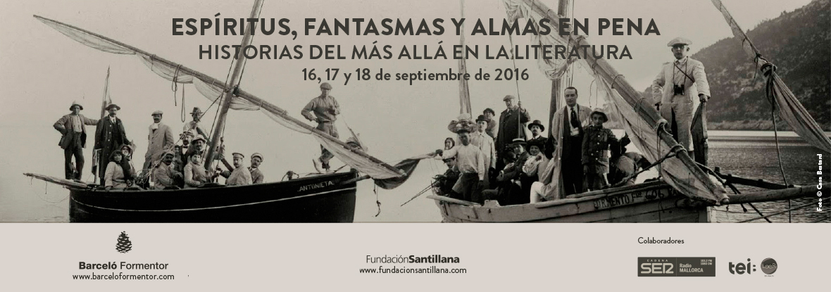 Este mes de septiembre estaré en las Converses Literàries de Formentor 2016