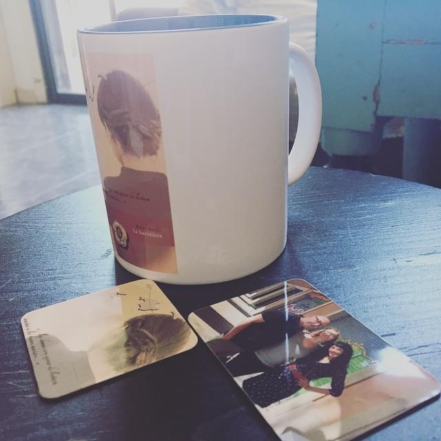 Cuánto me gusta #desayunar con mi taza personalizada de @camaloonam ;))