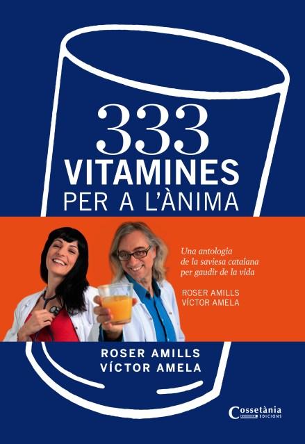 cubierta 333 Vitamines Roser Amills i Víctor Amela