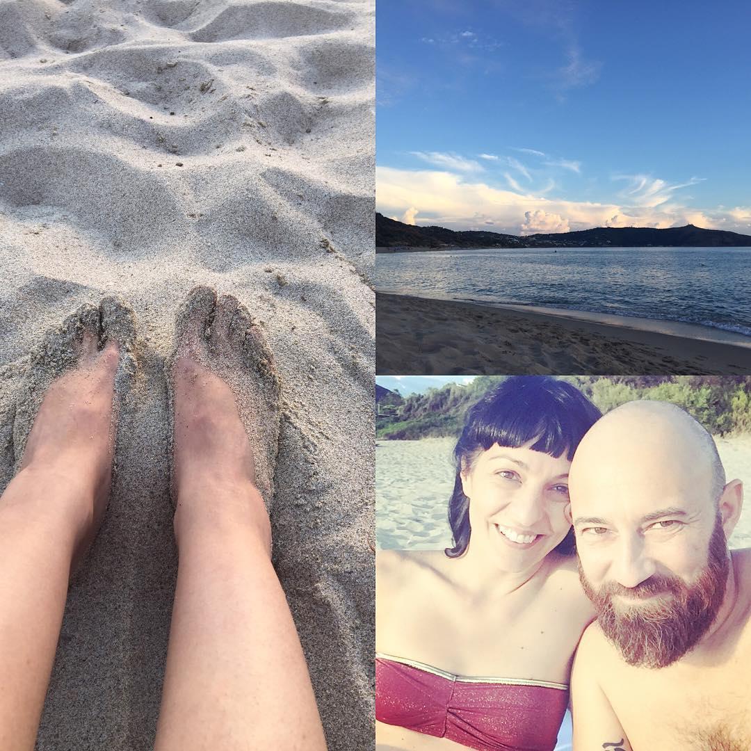 Esta playa es el paraíso #palinuro #palinurolesaline toda para nosotros :)) @santabraguita
