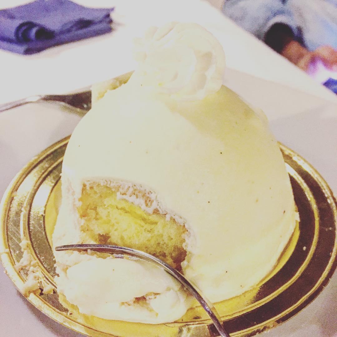 Delizia al limone... Gracias @marco_blued por cuidarme como a una reina :))
