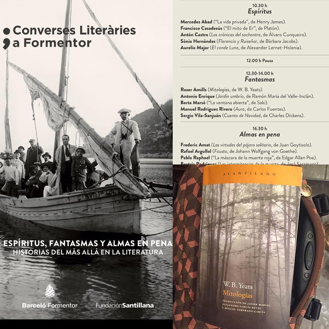El sábado tenemos una cita en Mallorca, voy con #WBYeats @acantilado1999 ;)) #conversesformentor2016