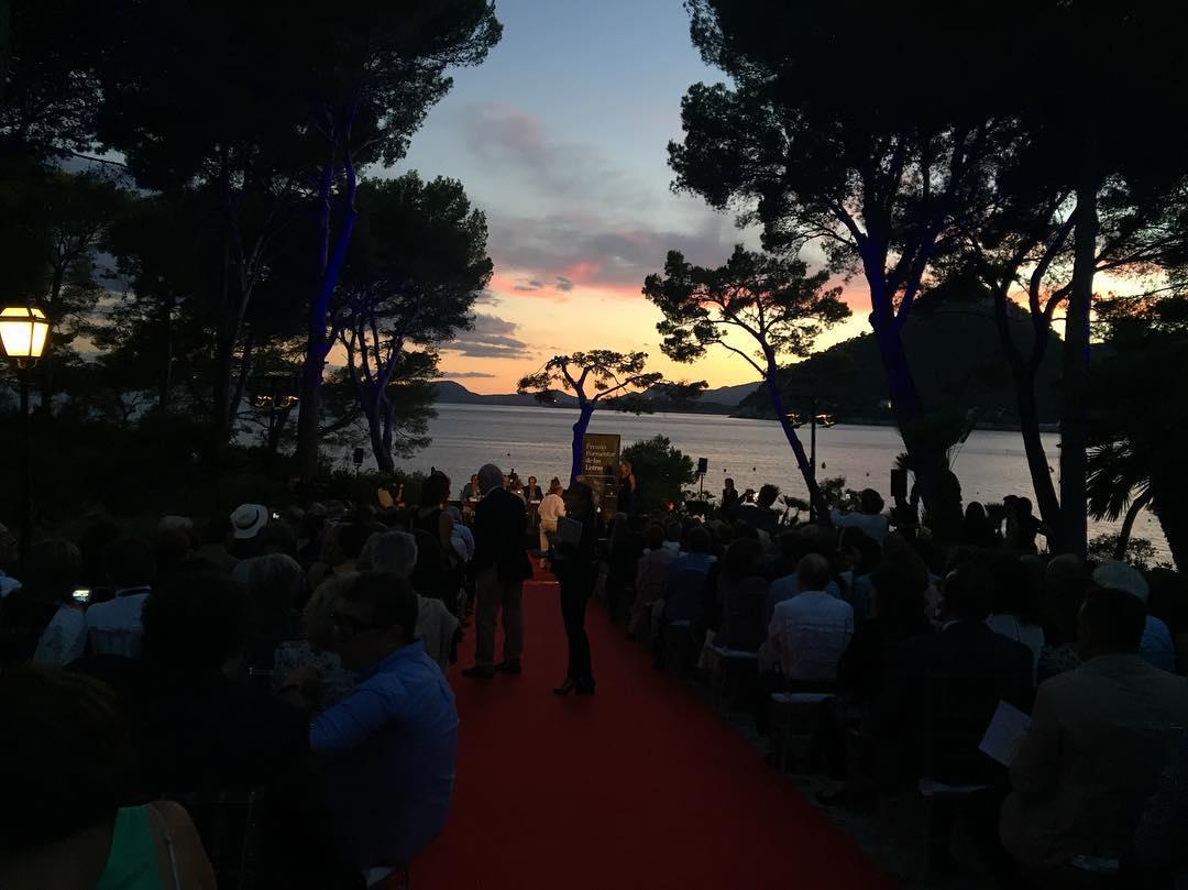 Os envío un vistazo a la entrega del Premio Formentor de las Letras 2016 #conversesformentor2016