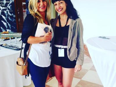 Qué bonito ha sido conocer a @beleta en las #conversesformentor2016 :))