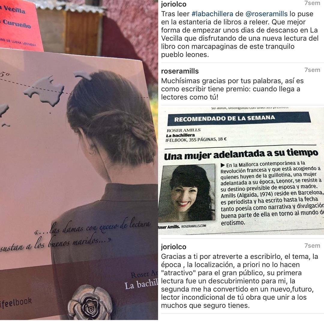 Mientras estoy con mi #novela2017, paro un momento y doy las gracias a los lectores de #labachillera