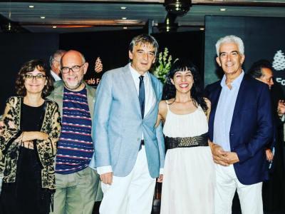Alegria máxima, foto de Cati Cladera, en #conversesformentor #ConversesFormentor2016 gracias a la #FundacionSantillana @barcelohotelsresorts @elpaiscultural @GrupoPRisa #converses #mallorca #formentor #escritores