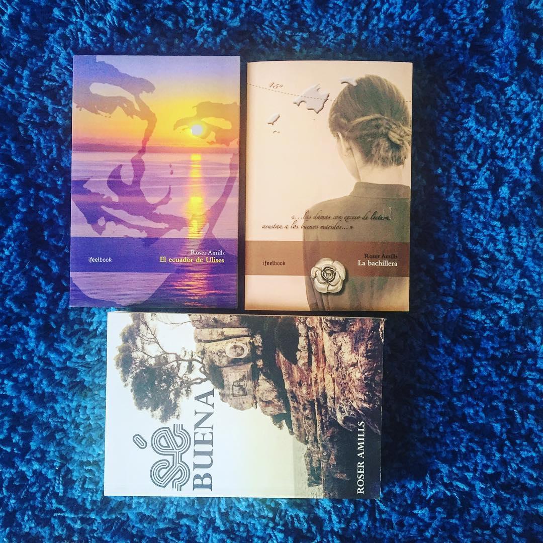 Mis tres novelas: #Labachillera #elecuadordeulises #sébuena