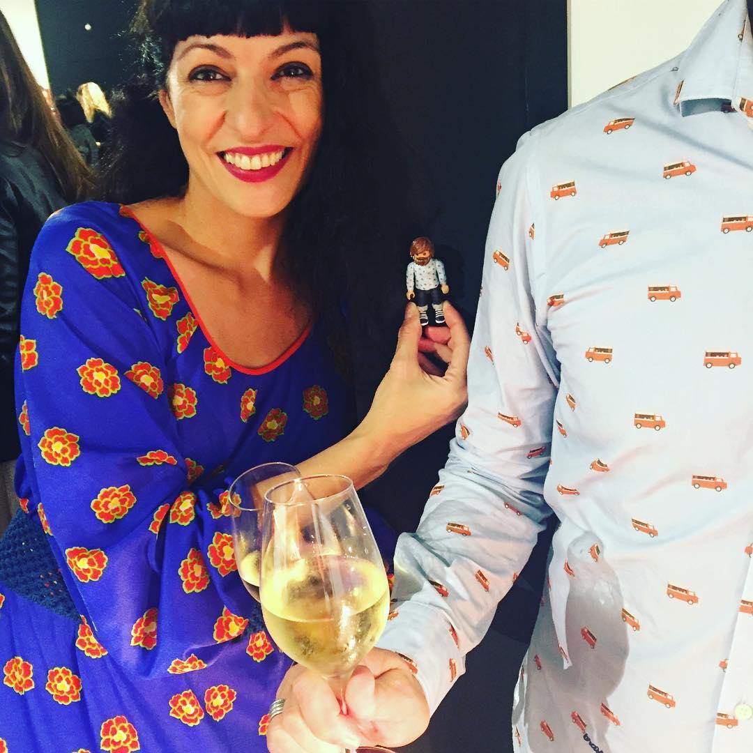 Y ahora el CM y @clipsterbcn y sí, vestidos iguales, camisa @bravafabrics ;))