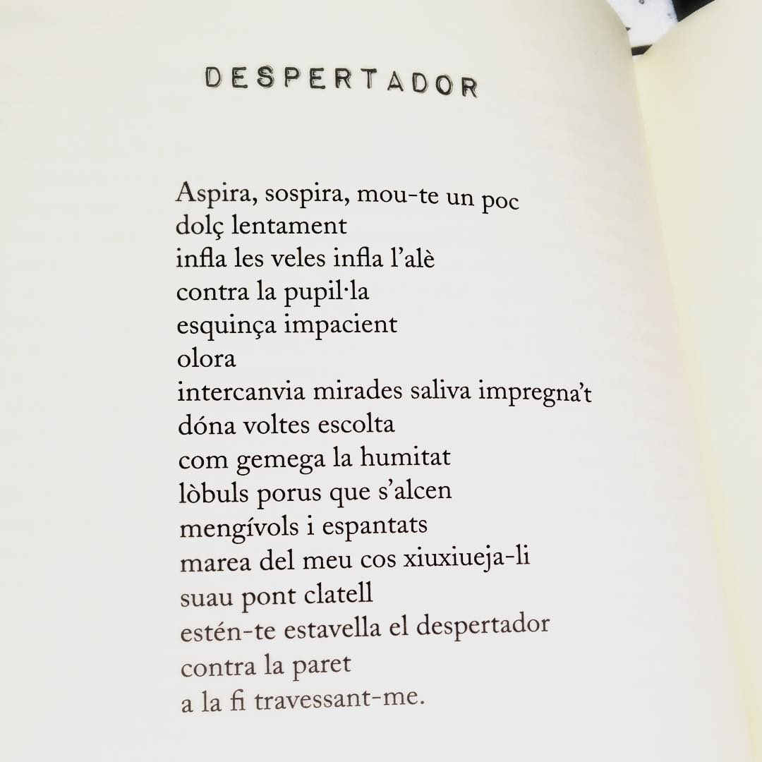És l'hora del despertador ;)) Poema de #morbo (Cossetània ed. 2011) #amillsmorning #bondia #buenosdias #goodmorning #morning #day #barcelona #barridegracia #sunrise #morn #awake #wakeup #wake #wakingup #ready #sleepy #sluggish #snooze #instagood #earlybird #algaida #photooftheday #gettingready #goingout #sunshine #instamorning #early #fresh #refreshed