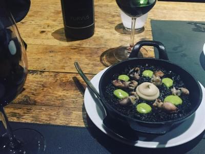 Cenita de otoño y seguimos :)) #llamber #bcn #gourmet #elborn