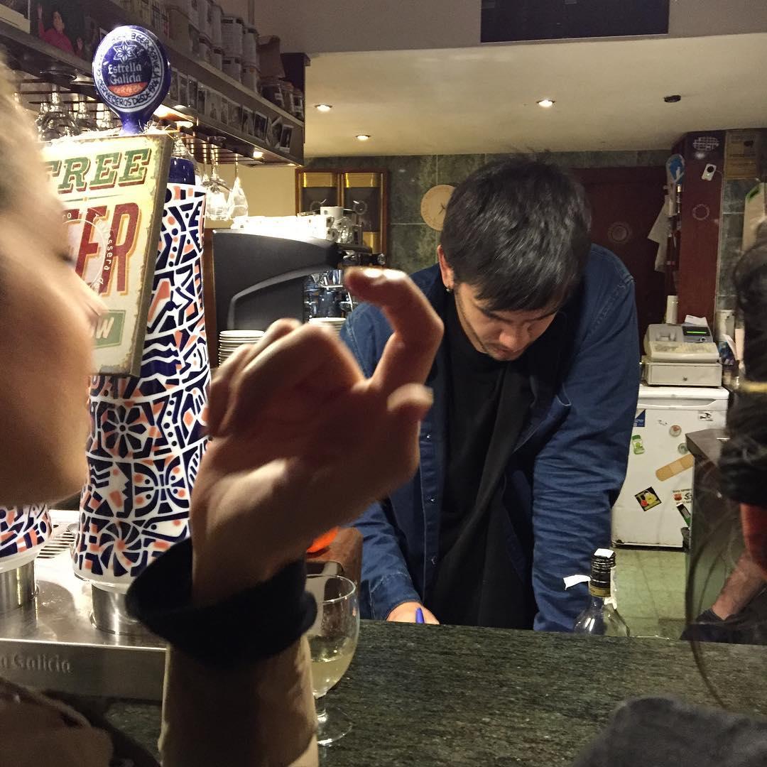 #halloween en el @bar_pietro ;))