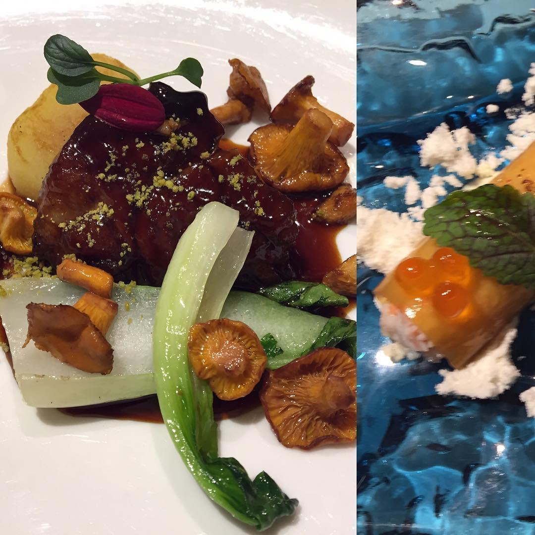 Os presento dos de los platos de la cena en @latavernadelclinic y luego os enseño los otros!