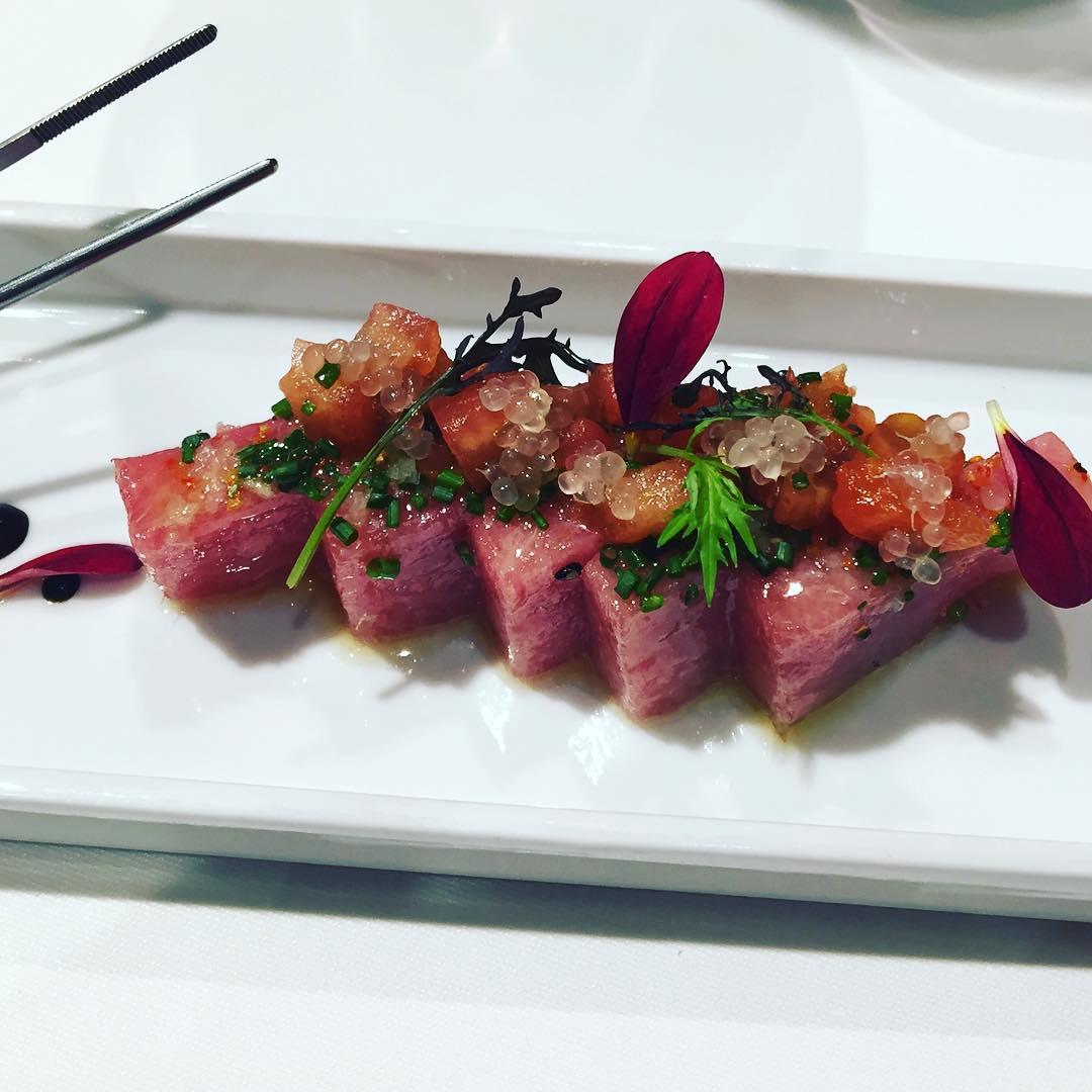 Me había olvidado de mostraros la foto del plato más espectacular: #toro de La Taverna del Clinic :))
