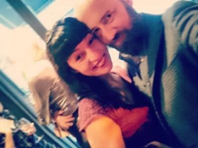 "Oh @marco_blued ;)) ""#Repost …feliz domingo… con @roseramills siempre es un super domingo!!! #zerokm #1aniversario #restaurant #lounge"