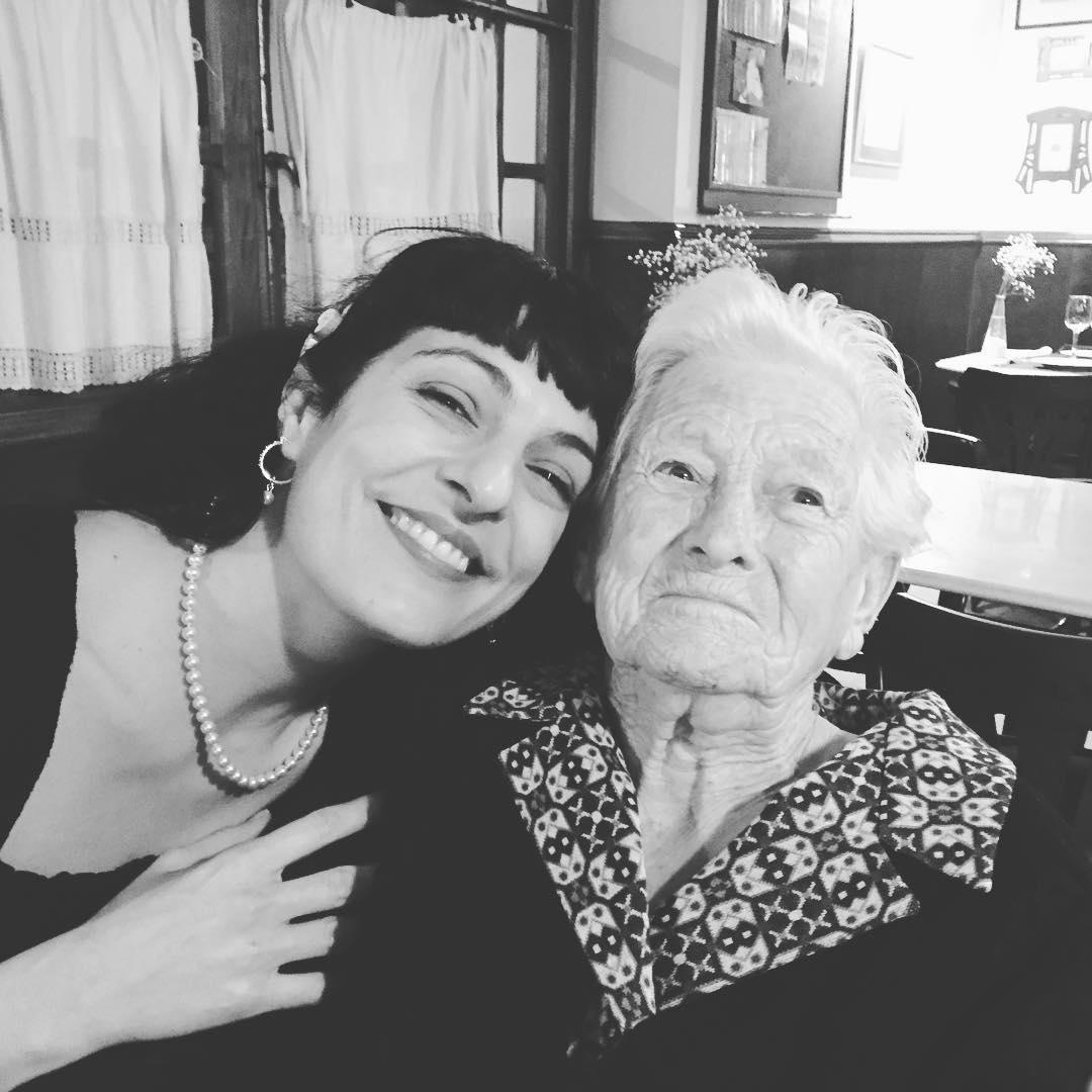 Os presento a la mujer más importante de mi vida. Catalina Pou Barceló, mi abuela materna. Ha cumplido 88 años