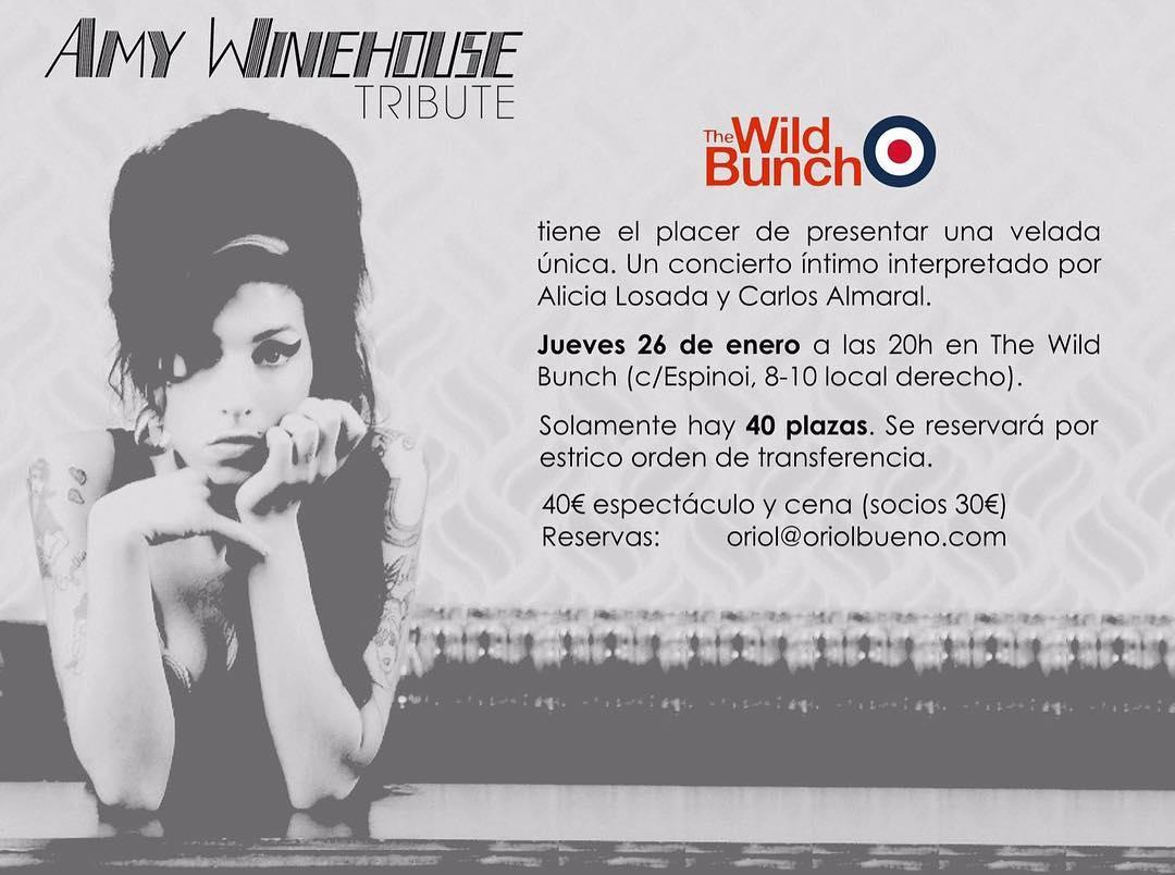 Dónde estaré el jueves 26? ;)) @thewildbunchbarcelona