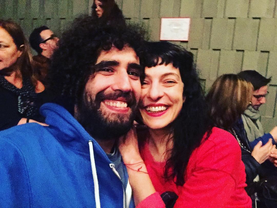 Un gusto compartir el estreno de #josesacristan @javiergodino #MuñecaDePorcelana en el Teatro Poliorama de Barcelona