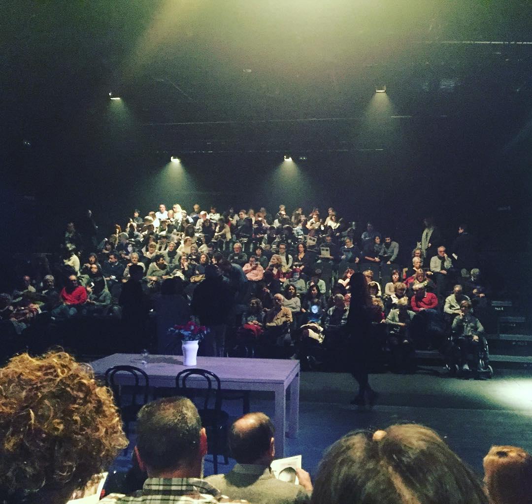 La mare #lavillarroel #teatre #timestandstill #Barcelona #cultura