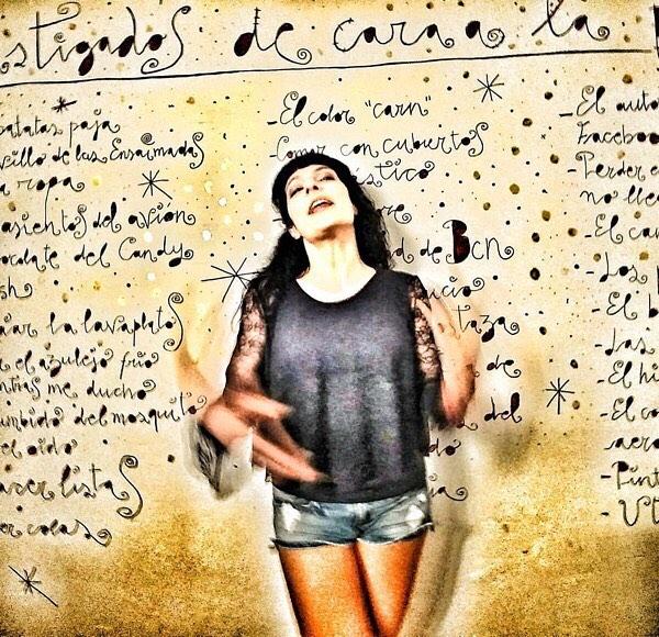 Aquí tenéis el retrato que me ha hecho @maximo46 #utopia126 #poblenou ¿qué os parece?