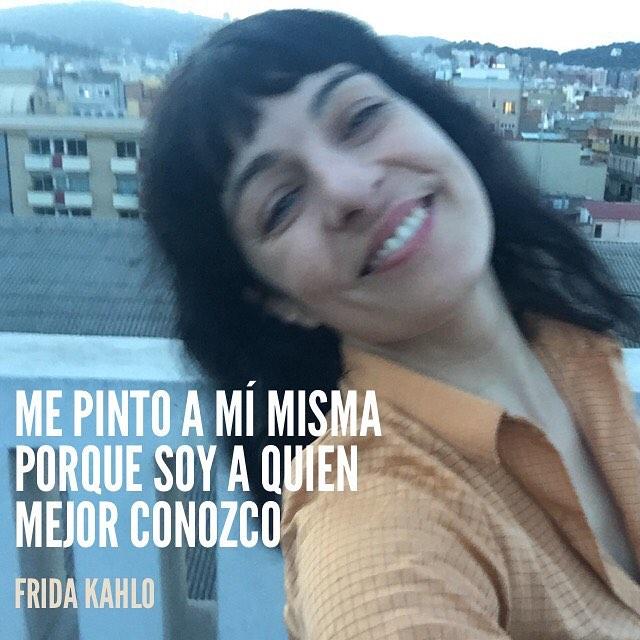 """#felizdiadelamujer """"Me pinto a mí misma porque soy a quien mejor conozco"""" Frida Kahlo"""