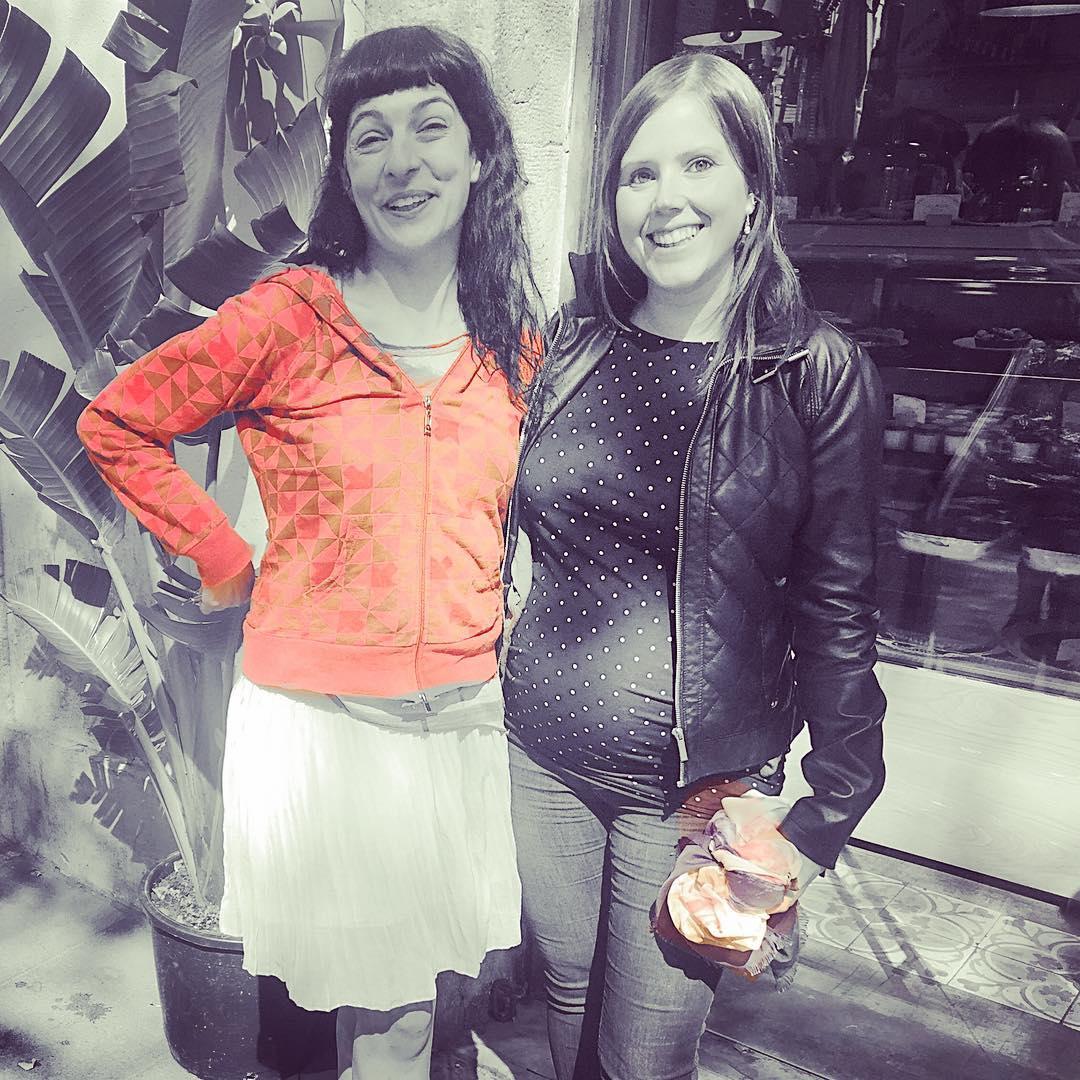 Quedar con Helena Àngel ha sido una alegría inmensa! Tenemos proyecto juntas y ella un embarazo espléndido 💕