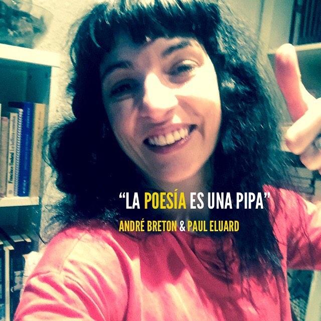 """La poesia és una pipa"" André Breton i Paul Eluard #diamundialdelapoesia"