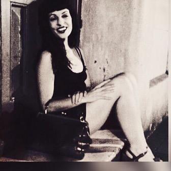 Del día que jugamos a imitar esa foto de #marilynmonroe... #buenasnoches #bonanit #goodnight ;))