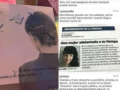 Sigo con mi #novela2017, paro un momento y doy las gracias a los lectores de #labachillera #escritora #mallorquina #algaida #palmademallorca #clubdelectura #llibres #leermola #leeressexy