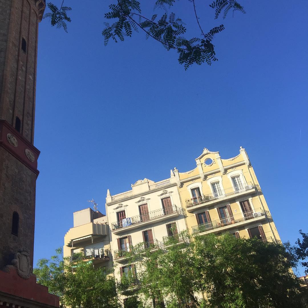 Esta es la luz ahora mismo, #sinfiltros :)) #barridegracia